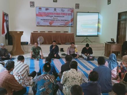 Audiensi Rumah Pintar Pemilu Vote KPU Kabupaten Trenggalek